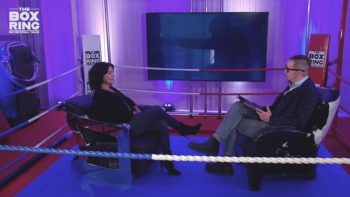 christel van hemelrijck interview box ring