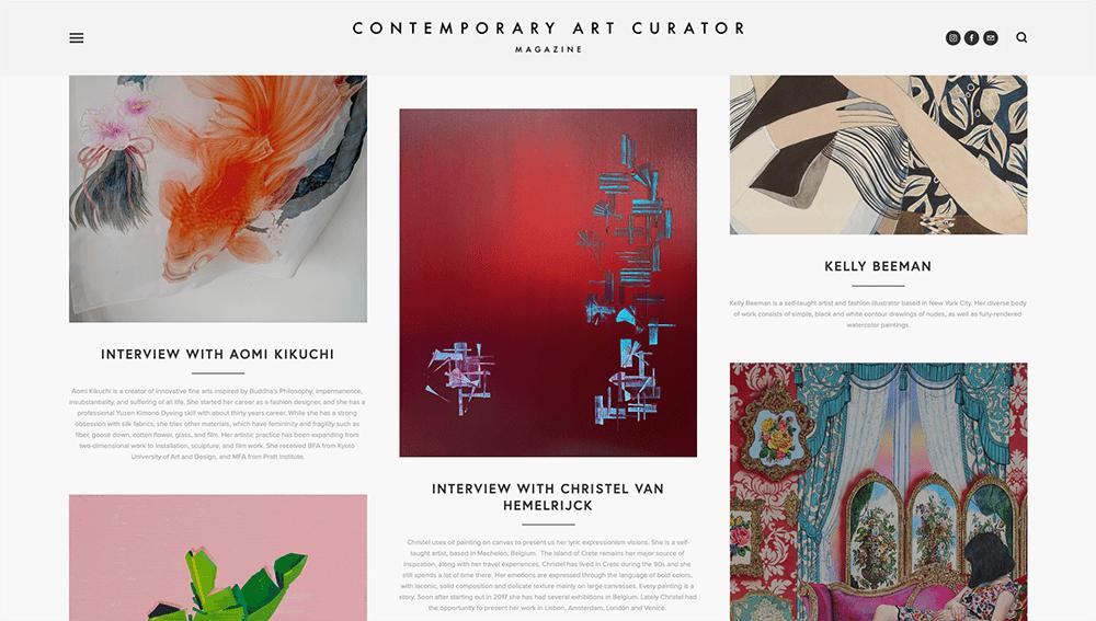 christel van hemelrijck interview contemporary art